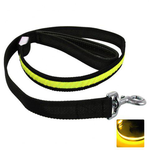 Fashion YWXLight Pet Dog Collar Luminous Dogs Leash Luminous LED Light