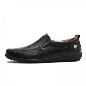 Spring New Fashion Wild Non-Slip Leather Men's Shoes -