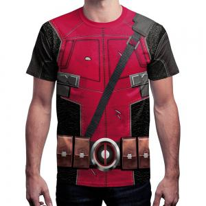 3D Digital Printing Short-Sleeved T-shirt -