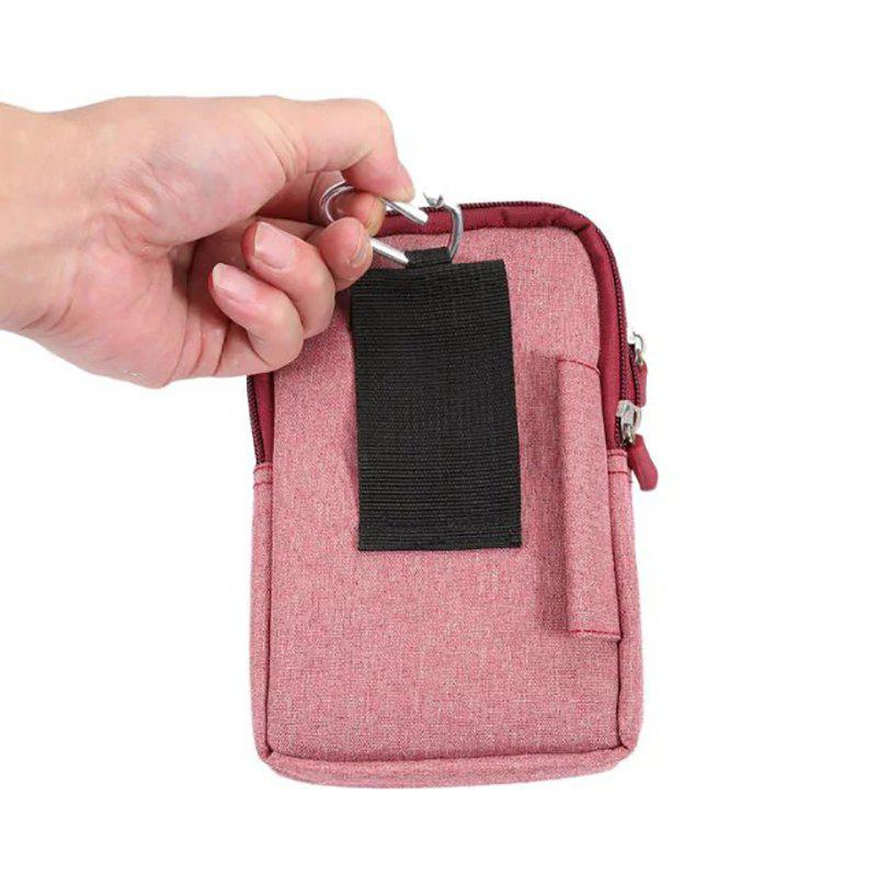 Fancy New Denim Leather Cell Phone Bag Pouch Waist Purse Case Cover for Smart Phone