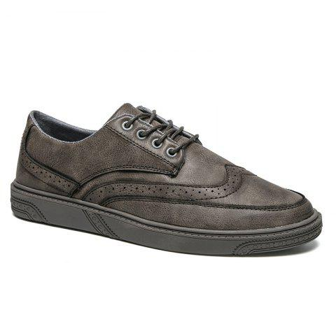 Chic Breathable Brock's Style Casual Formal Shoes For Men