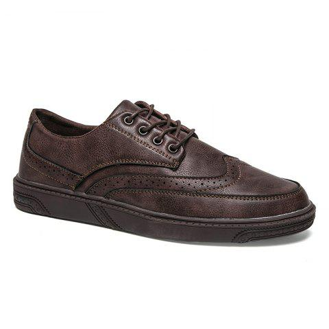 Store Breathable Brock's Style Casual Formal Shoes For Men