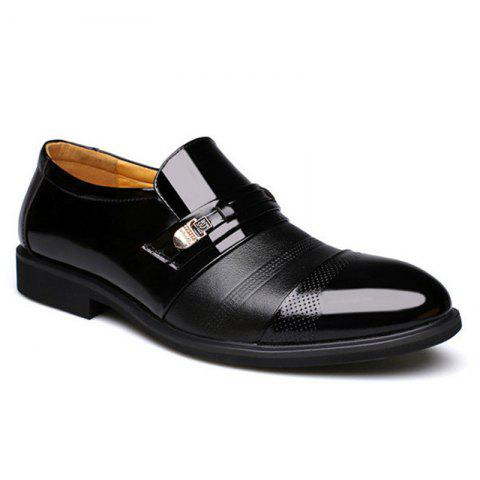 Sale Men Cap Toe Pointed Toe Slip On Business Formal Shoes