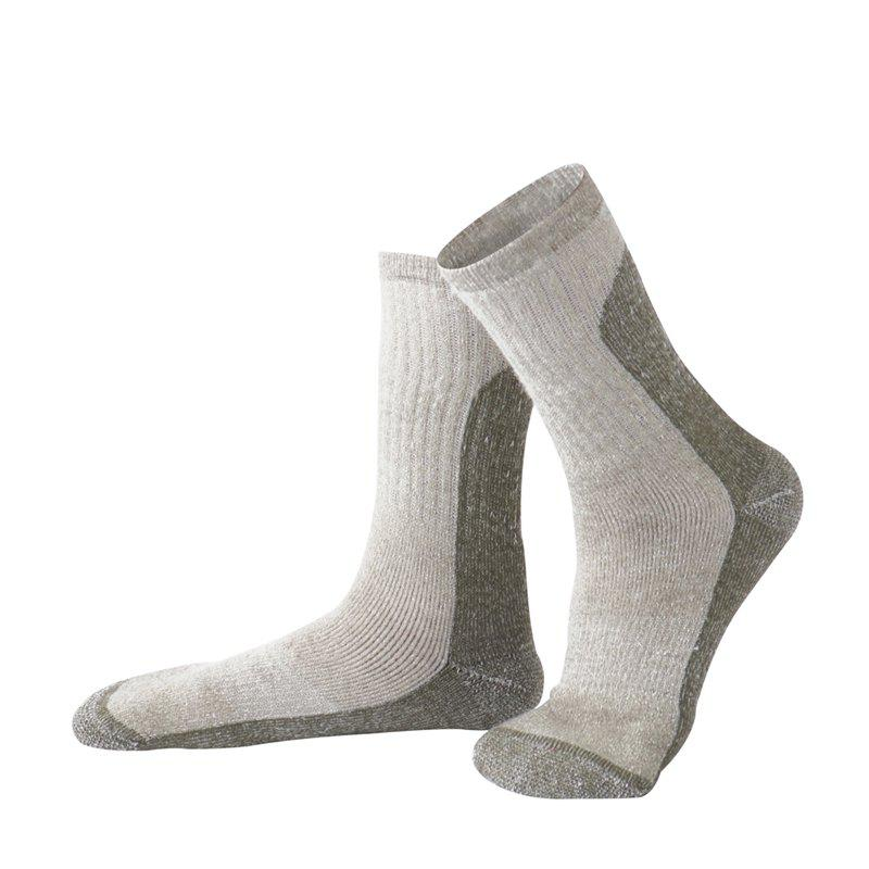 Fancy Wool  Outdoor Hiking Men and Women Ski Socks