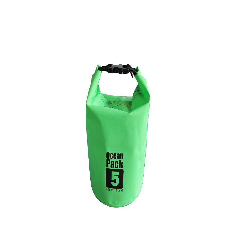 Online 5L PVC Water Resistance Dry Bag Sack for Canoe Floating Boating