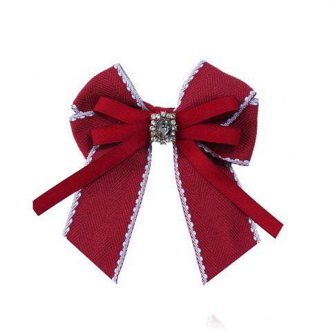Outfit Fine Necktie Bee Striped Brooch Accessories
