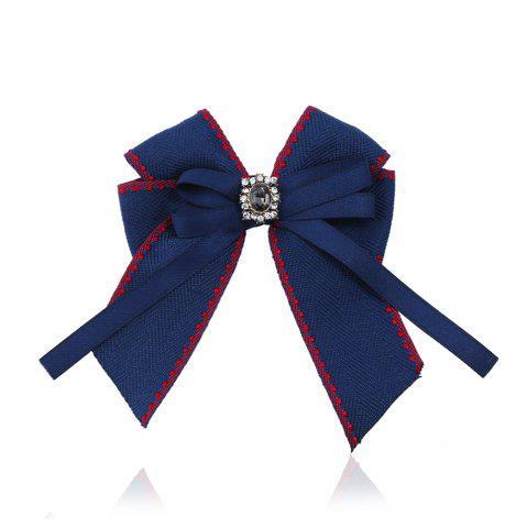 Fashion Fine Necktie Bee Striped Brooch Accessories