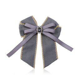 Fine Necktie Bee Striped Brooch Accessories -
