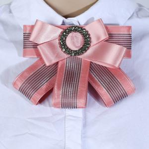 Multilayered Bow Tie Brooch -