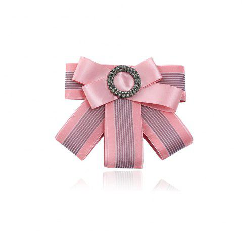 Latest Multilayered Bow Tie Brooch
