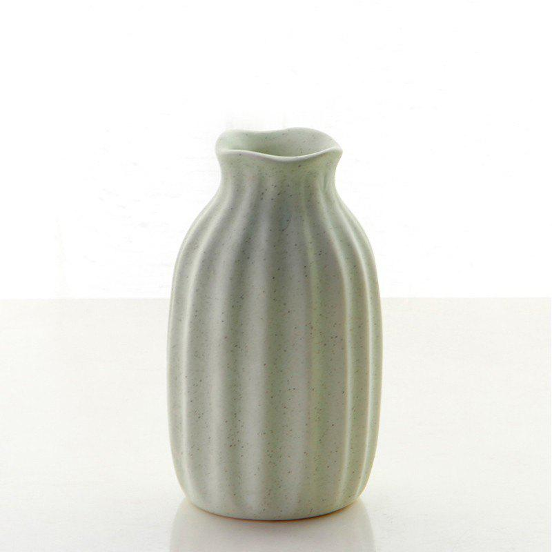 2018 Four Color Available Ceramic Flower Vases For Tabletop Mini
