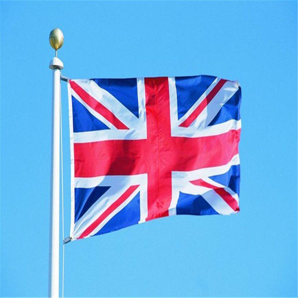 Shop 150X90CM High Quality British Flag Home Decoration World Cup Olympic Games