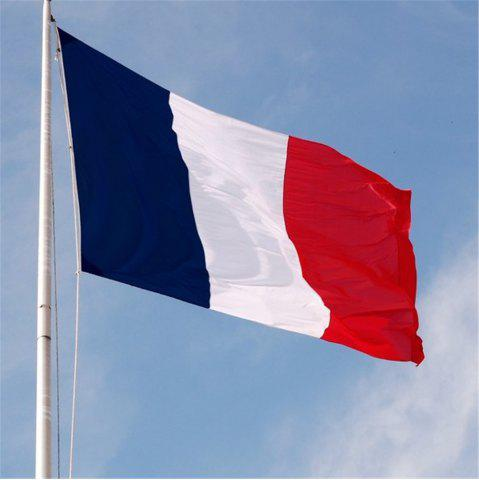Hot Hot French Flag Hanging Indoor and Outdoor 90X150CM Home Decoration