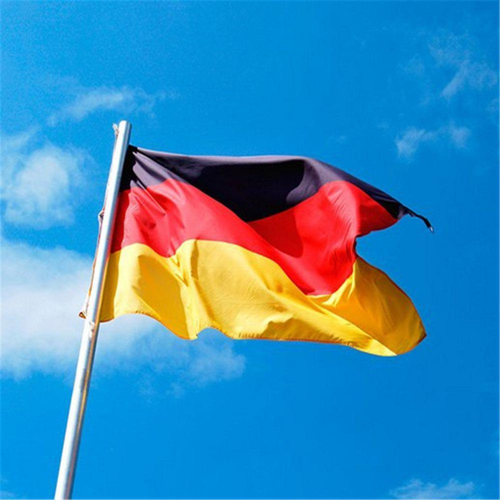 Store Hot German Flag Festival Super Poly Indoor Outdoor 90X150CM Home Decoration