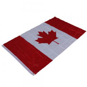 Hot Canadian Flag World Cup Activities Parade Festival Celebration 90X150CM Home Decoration -