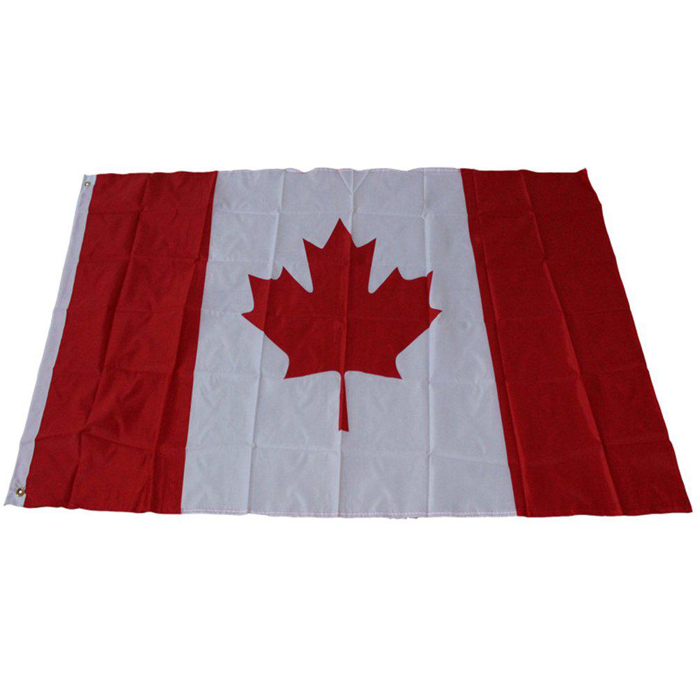 Buy Hot Canadian Flag World Cup Activities Parade Festival Celebration 90X150CM Home Decoration