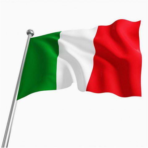 Buy 90 x 150 Centimeters Italian Flag Banner Event Festival Parade Celebration Outdoor Home Decor