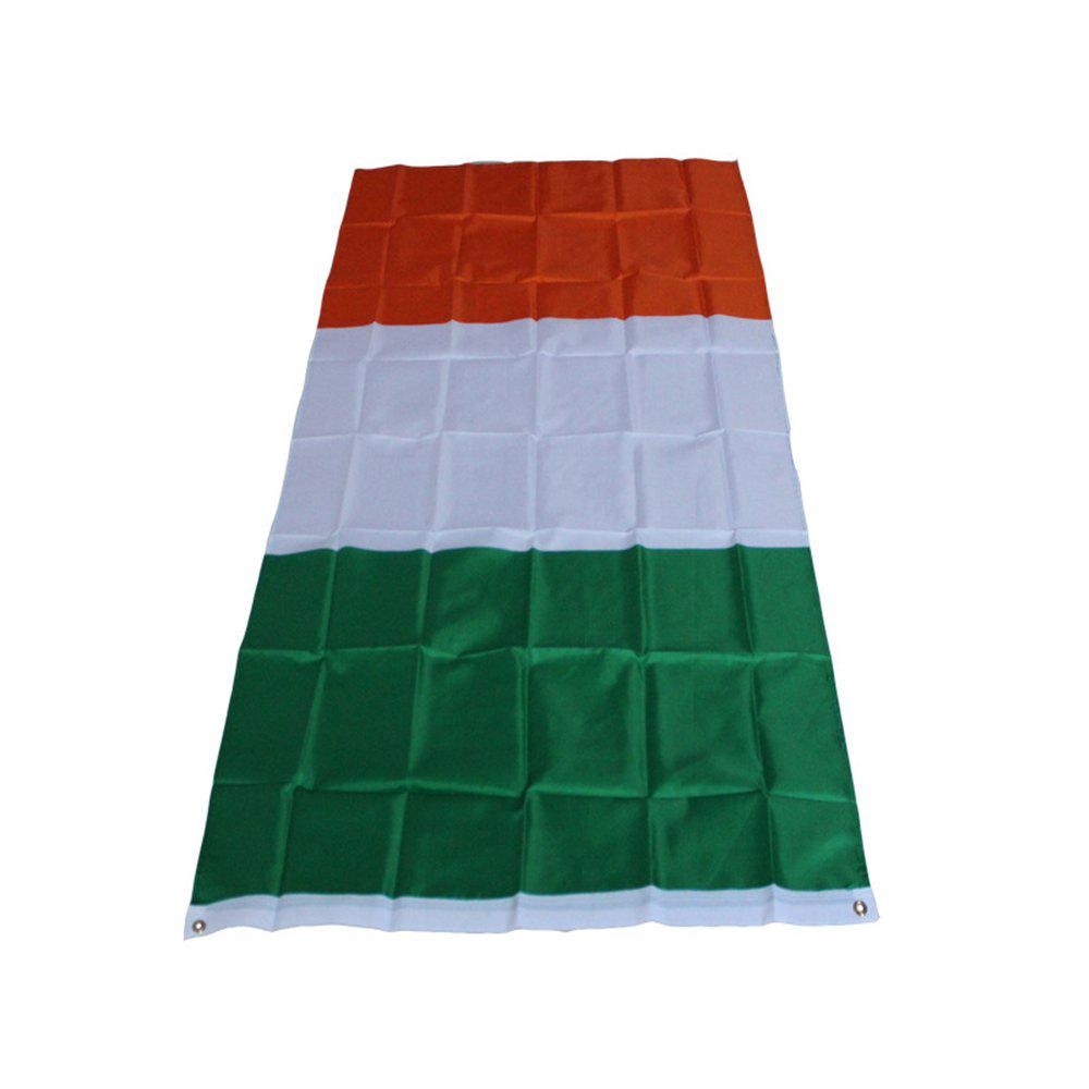 Trendy Hot High Quality Irish Flag 90 x 150 Cm Banner Indoor Outdoor Decoration Holiday Celebrations
