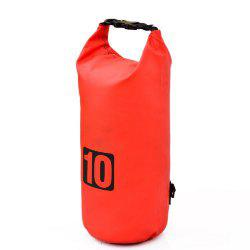 10L PVC Water Resistance Dry Bag Sack for Canoe Floating Boating Kayaking Camp -
