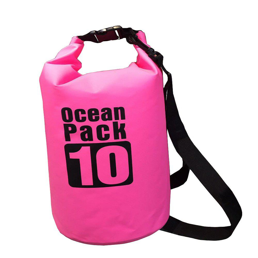 Shops 10L PVC Water Resistance Dry Bag Sack for Canoe Floating Boating Kayaking Camp