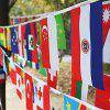 2018 FIFA World Cup Russia Soccer Football Fabric Bunting Banner String Flags -