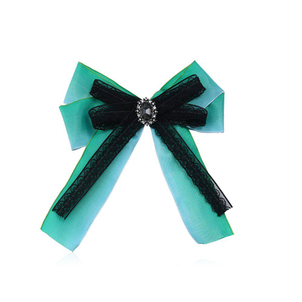 New Color Double Bow Tie High Grade Brooch