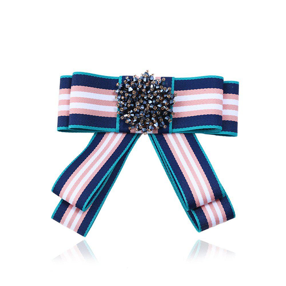 Online Campus Fashion All-Match Bowties Brooch