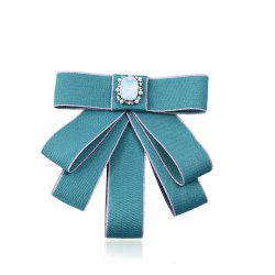 College Wind Bow Tie Brooch -