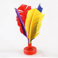 Smart Colorful Feather Shuttlecock with Lighting and Voice Count Report -