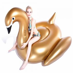 Giant Swan Inflatable Pool Float Row Water Fun Toy -