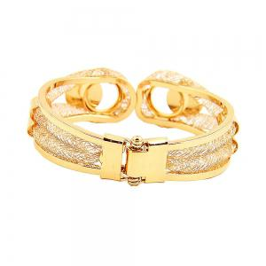 Gold-plated 18K Gold Atmospheric Fashion Jewelry Set -
