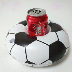 Support de tasse de football flottant mini-gonflable chaud de haute qualité -