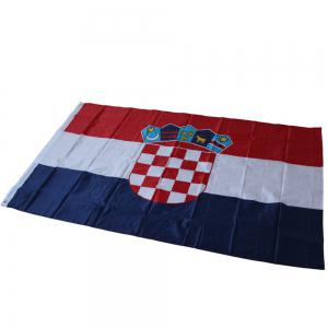 Hot Sale 90x150 Centimeter Croatian Flag Hanging Flag Polyester Celebrating Outdoor Interior Banner -