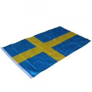 Sweden Flag Polyester National Office Event Parade Festivals Home Decor New Fashion -