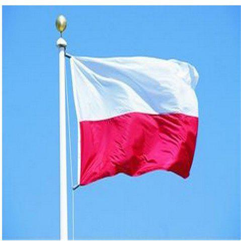 Cheap Flag of Poland Flying Flag Polyester Outdoor Indoor 150X90 Cm Celebration Banner