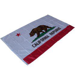 Hot California State Flag Polyester Flag Indoor Outdoor 90X150 Cm -