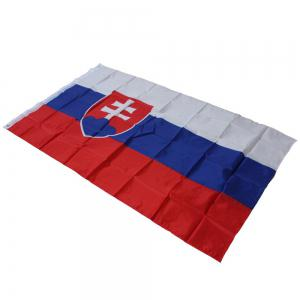 90 x 150CM Словакия Flag Polyester UV Digital Printing Event Parade Holiday Home Decor -