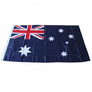 90 x 150CM Australian Flag Flag-Mounted Polyester Outdoor Interior Banner for The Celebration -