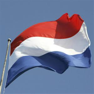 Hot 90X150 Cm Netherlands Flag Polyester Indoor and Outdoor Decoration New Fashion -