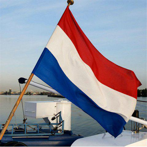 Cheap Hot 90X150 Cm Netherlands Flag Polyester Indoor and Outdoor Decoration New Fashion