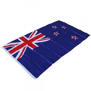 Best Selling High Quality 90X150 Cm New Zealand Flag Polyester Office Activities Parade Festival Home Fashion Decorati -