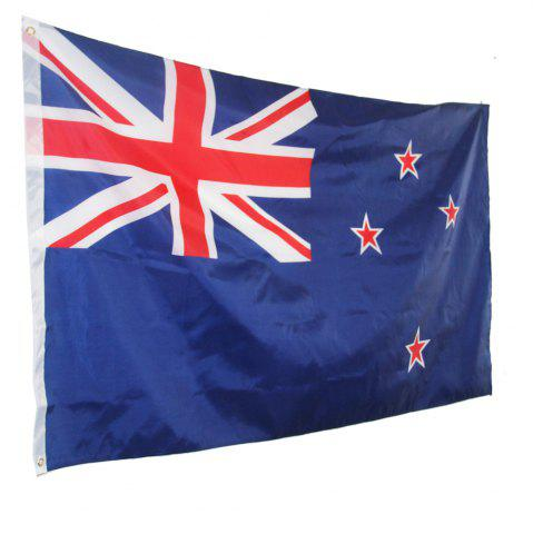 New Best Selling High Quality 90X150 Cm New Zealand Flag Polyester Office Activities Parade Festival Home Fashion Decorati