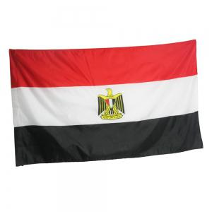 High Quality 90X150CM Egyptian Flag Polyester Festival Home Super Poly Indoor and Outdoor Decoration -
