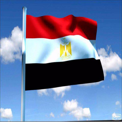 Latest High Quality 90X150CM Egyptian Flag Polyester Festival Home Super Poly Indoor and Outdoor Decoration