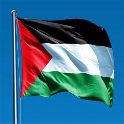 High Quality 90X150 Cm Palestine Flag Festival Home Interior Decor Souv -