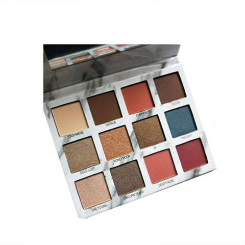 Affordable 12 Colors Matte Pallete Waterproof Lasting Glitter Eyeshadow