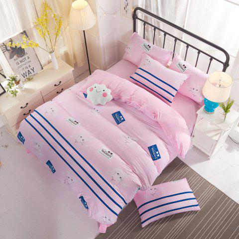 Fancy Washed Cotton Bedding 4pcs/set