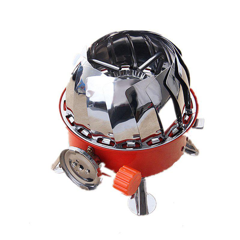Hot Windproof Gas Stove Camping Steel Picnic Portable High Quality Outdoor Cooking Tools
