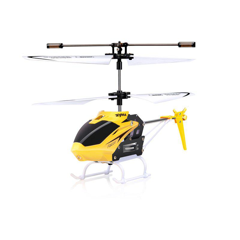 Store SYMA W25 2CH Indoor Small RC Electric Aluminium Alloy Remote Control Helicopter for Kids