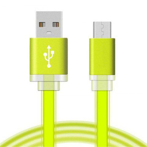 Fancy 1 Meter Micro USB Data Charger Cable Cord for Android Phones Candy Colors